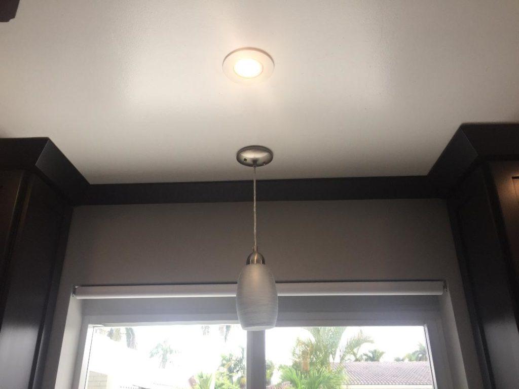 Kitchen LED light install
