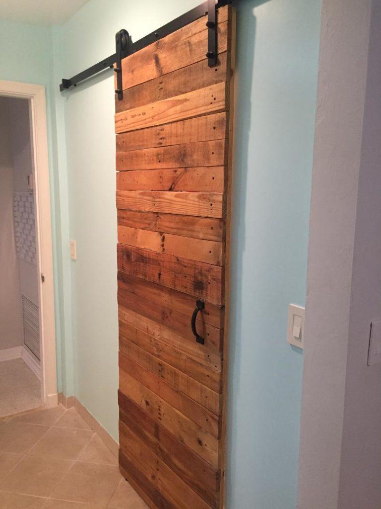 Barn door install