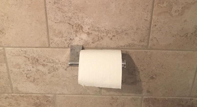 Toilet Paper Holder Installation