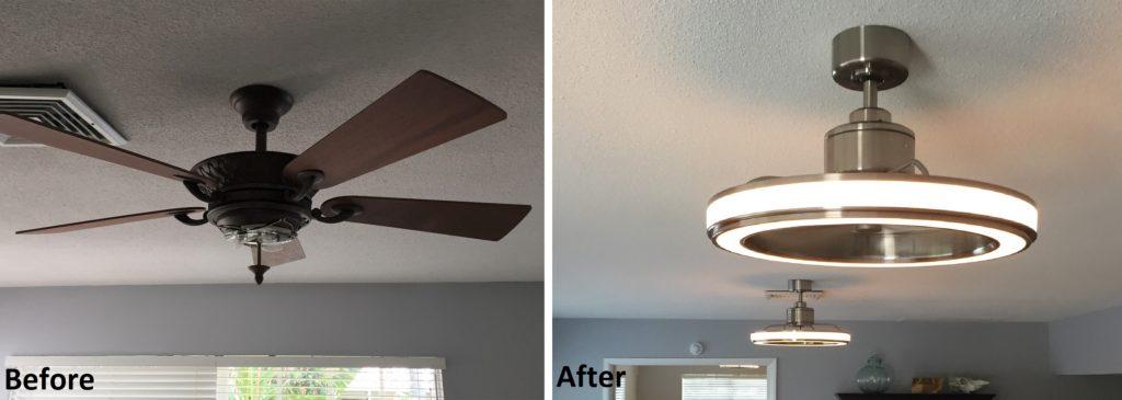 Ceiling Fan/Light Installation