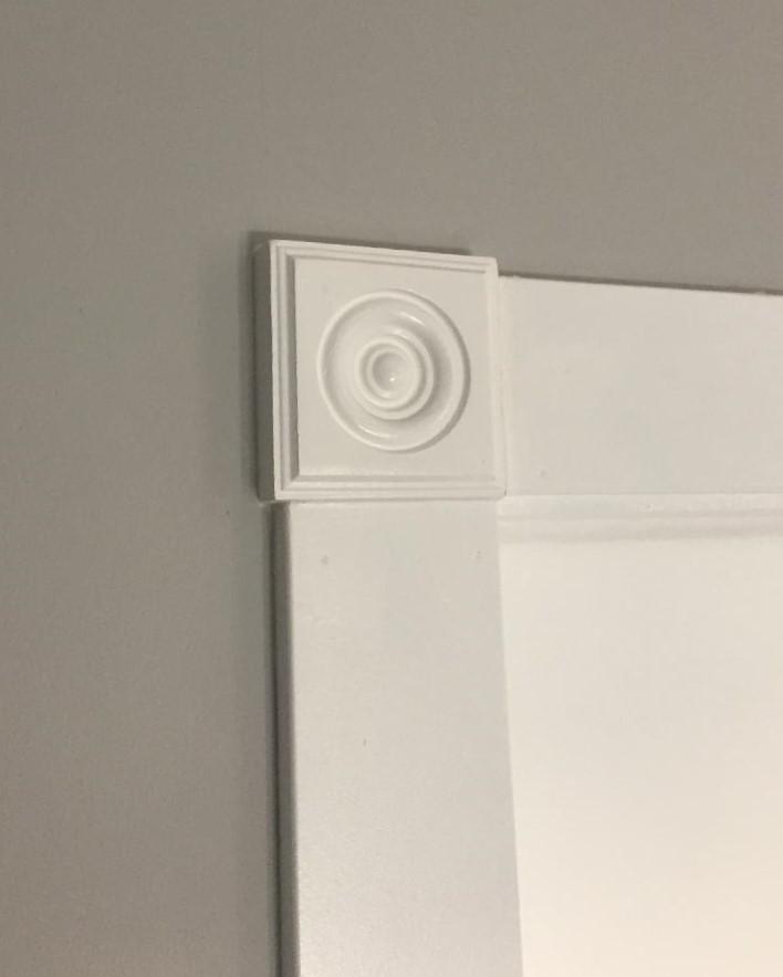 Door trim installation