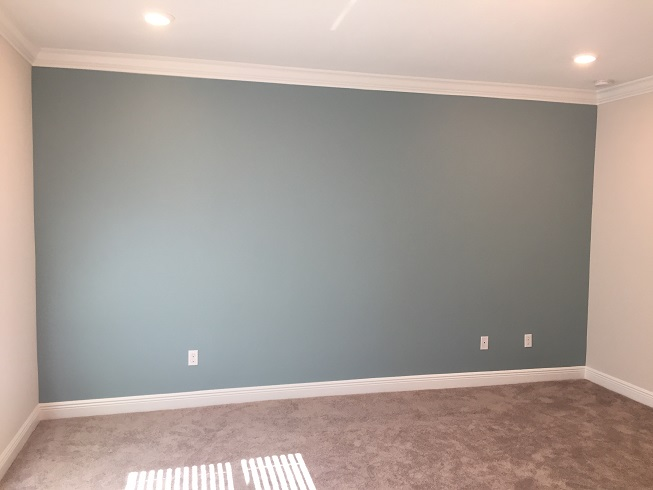 Accent wall painting