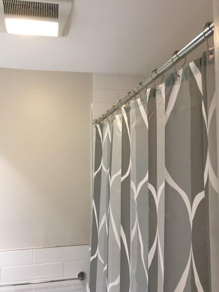Curtain rod install