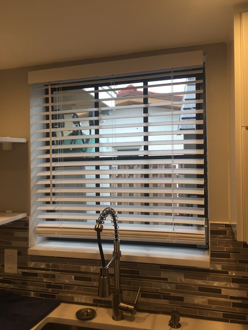 Kitchen blind installation