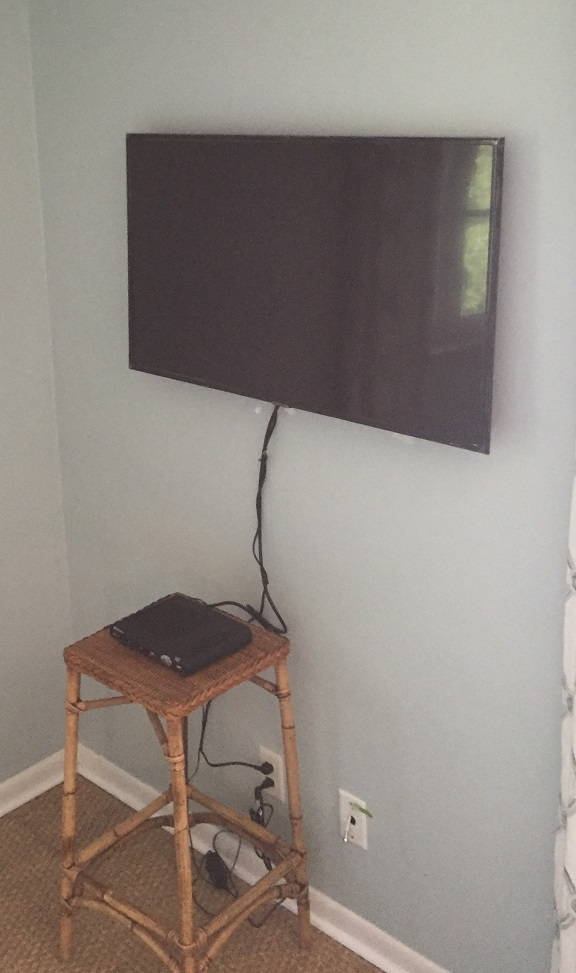 Wall mount television