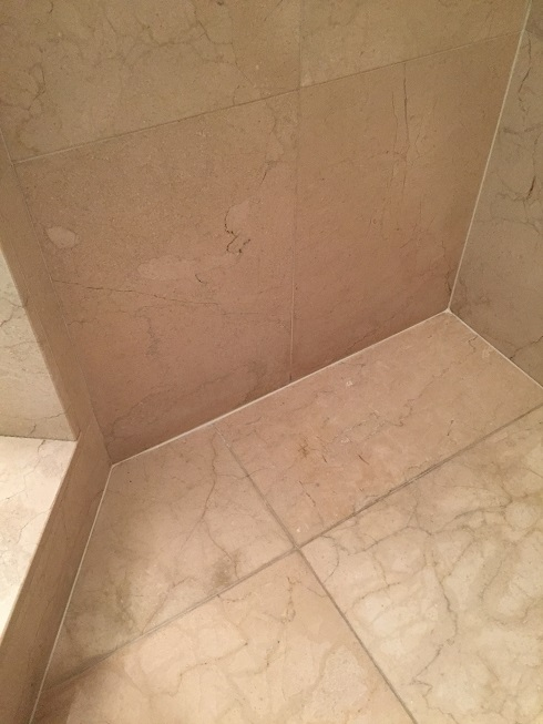 Shower recaulking