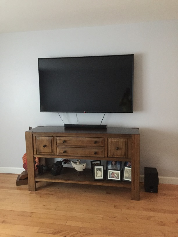 65 inch tv mounting