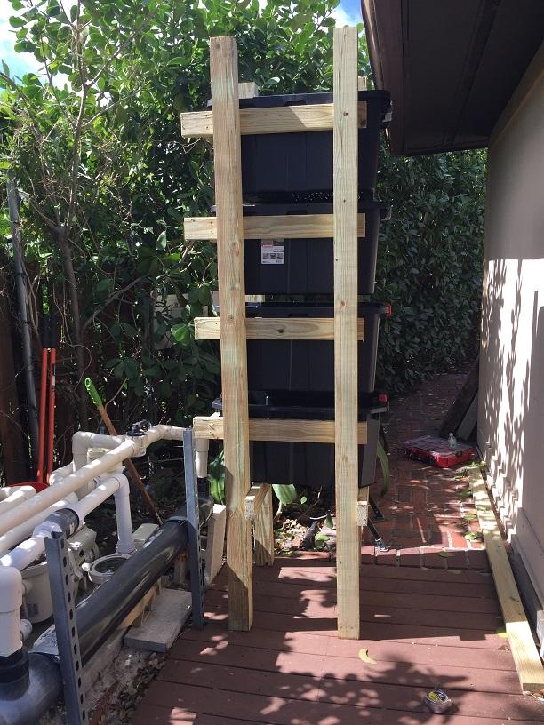 Custom koi pond pump build