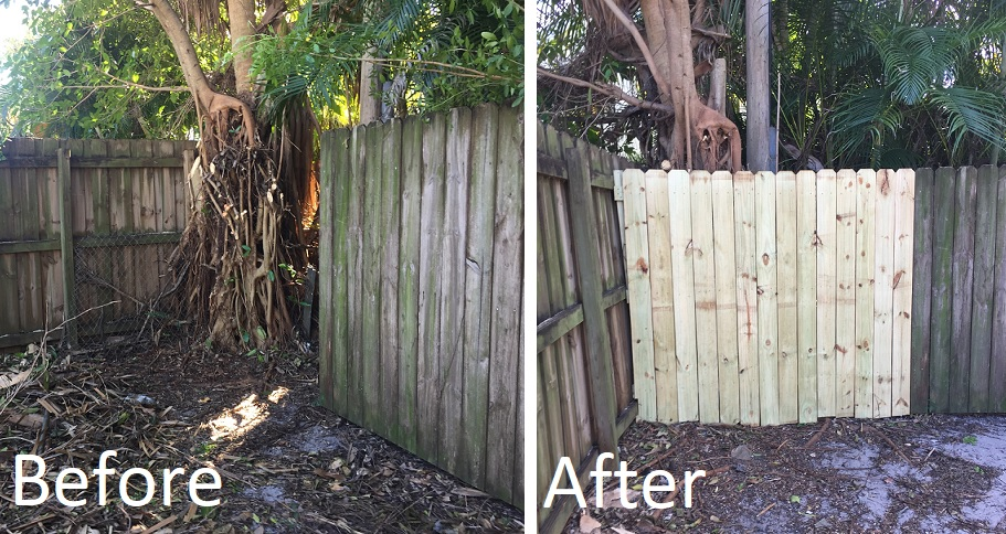 Fence addition install
