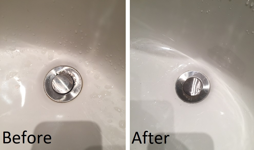 Sink drain replacement