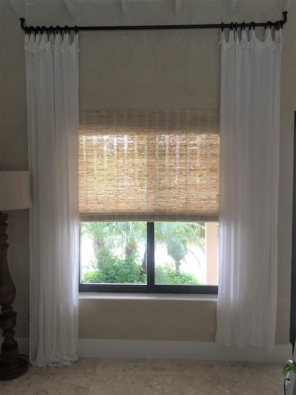 Window treatment install