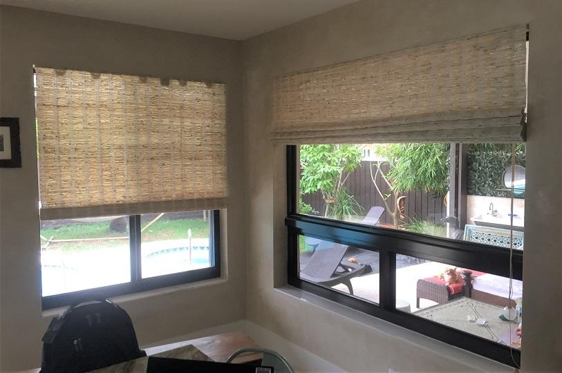 Window treatments install